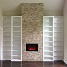 Built In With Fireplace Custom Built Ins Carpentry Plus