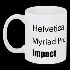 <b>Кружка</b> Helvetica, Myriad, Impact #13654 в Москве – купить <b>кружку</b> ...