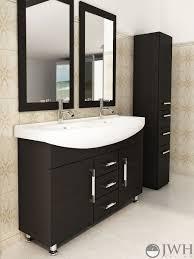 Dual Bathroom Vanities 47 Celine Double Bathroom Vanity Espresso Bathgemscom