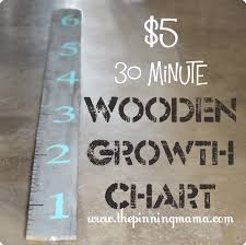Diy Height Chart 5 30 Minute Wooden Growth Chart The Pinning Mama