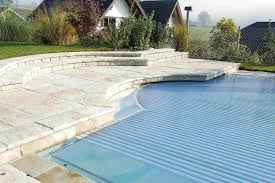Walk In Pools Automatic Pool Cover In Ground Automatic Rigid Slated Pool Cover