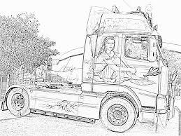 Dessin De Camion Remorque A Imprimer L Duilawyerlosangeles