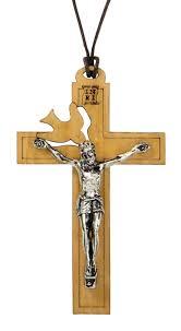 holy spirit crucifix pendant 6 pk