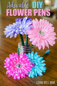 if you ever wanted to know how to make flower pens look no her