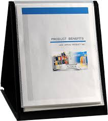 Display Binders With Stand Amazon Lion FlipNTell Display BookNEasel Letter 100 8