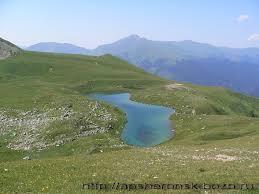 Озера Краснодарского края Ханское Абрау Хухо Псенодах  Горное озеро