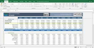 Excel Profit And Loss Template Custom Profit Loss Statement For Small Business Excel Template Etsy