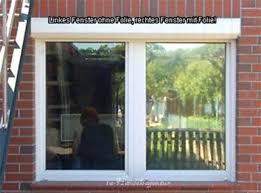 Sonnenschutzfolie Fenster Spiegelfolie A Schaaufnahme L Das Bild