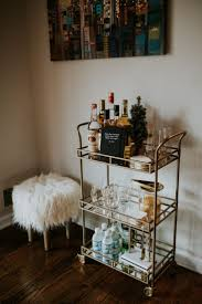 Best 25+ Gold bar cart ideas on Pinterest | Bar cart, Bar cart decor and  Bedroom wall paint colors