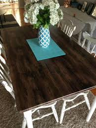 vinyl covered dining table dining