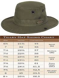 Tilley T3 The Wanderer Cotton Duck Hat With Snap Up Sides