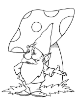 Small Picture Mega Coloring Pages 53 gnomes coloring pages