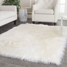miraculous ikea animal rug your house idea top 61 divine cozy faux fur area rug