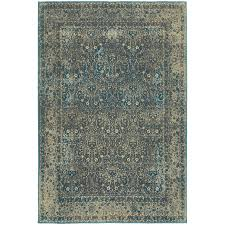 oriental weavers pasha 1337b navy grey area rug