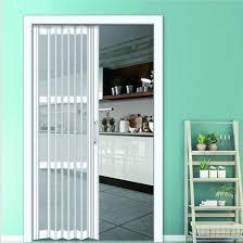 quality pvc glass folding door system