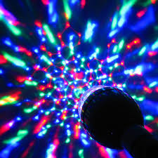 The Range Disco Light Bulb Sound Activated Disco Light Bulb B22