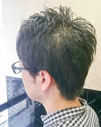 メンズショート髪細い 美容院リズミカル