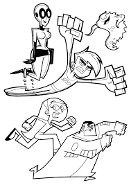 Small Picture Kids n funcouk 9 coloring pages of Danny Phantom