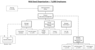 Creating An Ecm Organization Structure Part 2 Sample