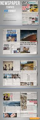 Newspaper Template Free Download Free Graphic Templates