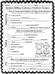 the best images about english conjunctive  opinion writing transitions sentence starters stems any topic back to school