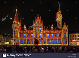 Festival Of Lights Canterbury Old Post Office Building At The Festival Of Lights Light