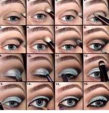 silver eye makeup tutorial