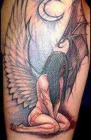 Andílek Tetování Tattoo Strážných Andělů Foto Význam