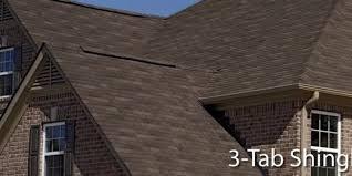 3 tab asphalt shingle Downriver MI The Downriver Roofing Company