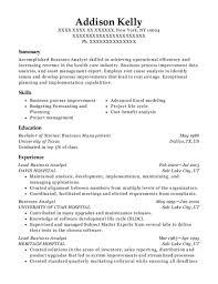 Best Lead Business Analyst Resumes | Resumehelp