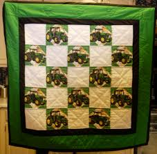 Friday Fun: John Deere Quilts! & Credit Adamdwight.com