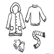 Small Picture Winter clothes coloring pages Crafts and Worksheets for