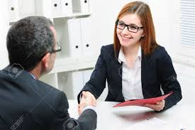 job applicant having interview handshake while job interviewing handshake while job interviewing stock photo 37885308