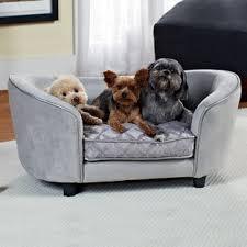 constantine quicksilver dog sofa