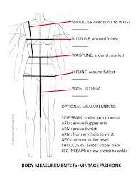 Body Measurement Chart Women Kozen Jasonkellyphoto Co