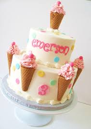 Icecream Birthday Cakes