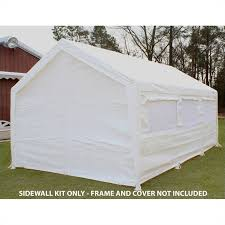 King Canopy 10 x 20 Canopy Sidewall Kit with Flaps and Bug