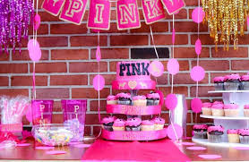 pink theme decoration for s