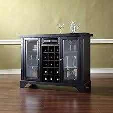 Amazon Crosley Furniture Lafayette Sliding Top Bar Cabinet