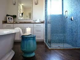 blue shower tile mosaic designs m83 shower