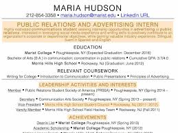 No Experience Resume Examples For Students Sample High School