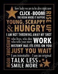 Hamilton Musical Quotes