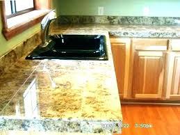 granite tile countertops wood tile countertop kreativandmore granite tiles for countertops kits