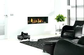 recessed wall electric fireplace recessed