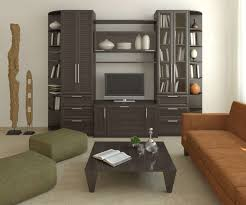 Wood Furniture For Living Room Living Room Modern Tv Stand With Black Granite And Metal Leg