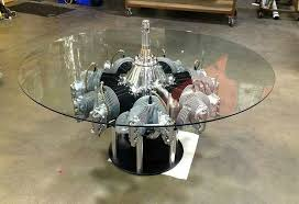 Continental Radial Engine Table by MotoArt.. | My Style & Cool Stuff.. |  Pinterest | Engine, Men cave and Man cave garage