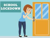 classroom door clipart. Exellent Clipart Teacher Quitely Locking The Classroom Door School Lockdown Clipart Size  94 Kb To Classroom Door Clipart O
