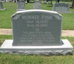 Minnie Levine Fink (1897-1991) - Find A Grave Memorial