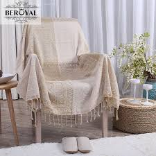 chenille yarn throw blanket europe pattern blankets on sofa bed plane travel bedding sheet tablecloth 2 sizes high quality lambswool blankets furry blankets