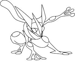Coloriage Amphinobi Pokemon Imprimer Sur Coloriages Info